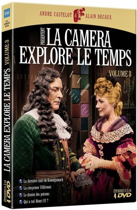 La caméra explore le temps - Volume 3 (s/w, 4 DVDs)