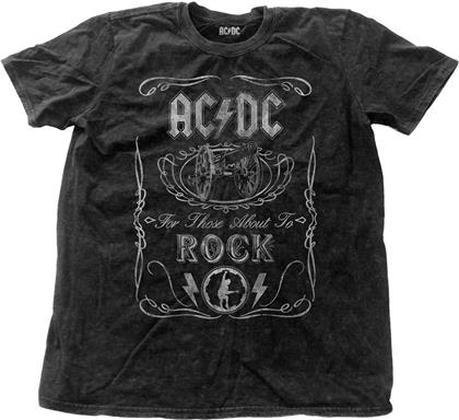 AC/DC - Cannon Swig Vintage with Snow Wash Finishing