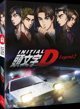 Initial D - Legend - Film 2 (2015) (Collector's Edition, Blu-ray + DVD)