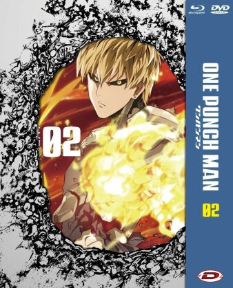 One Punch Man - Stagione 1: Vol. 2 (Limited Edition, Blu-ray + DVD)