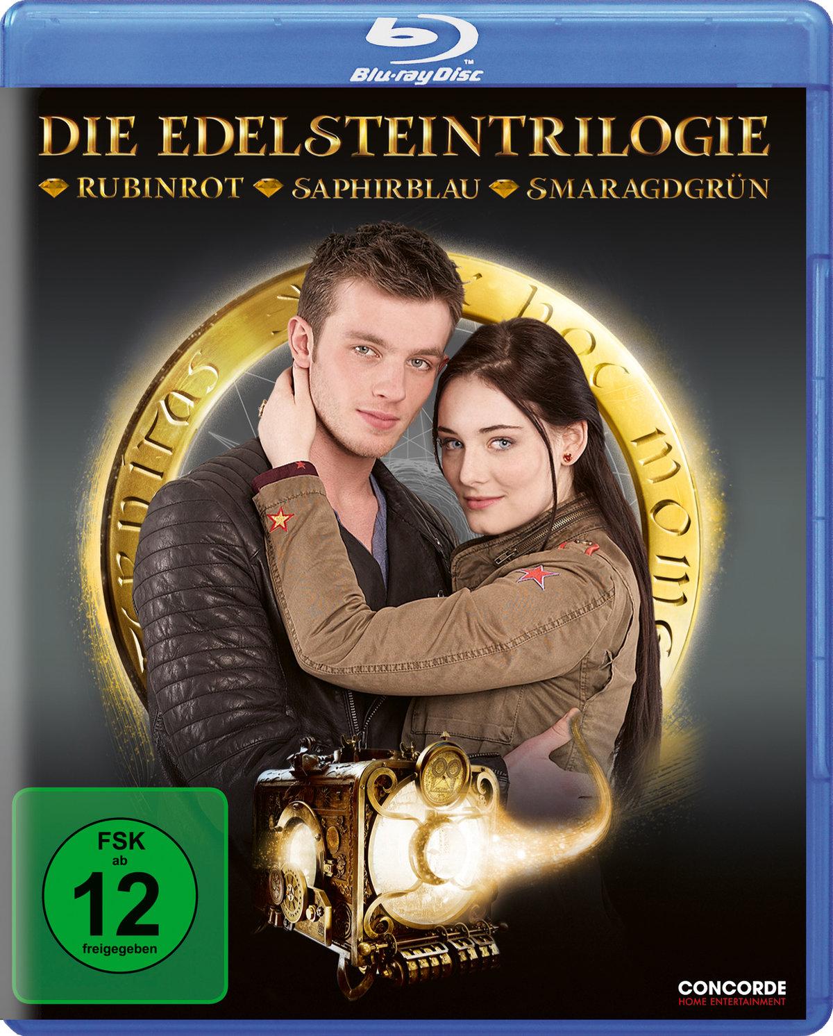 Die Edelsteintrilogie - Rubinrot / Saphirblau / Smaragdgrün (4 Blu-rays)