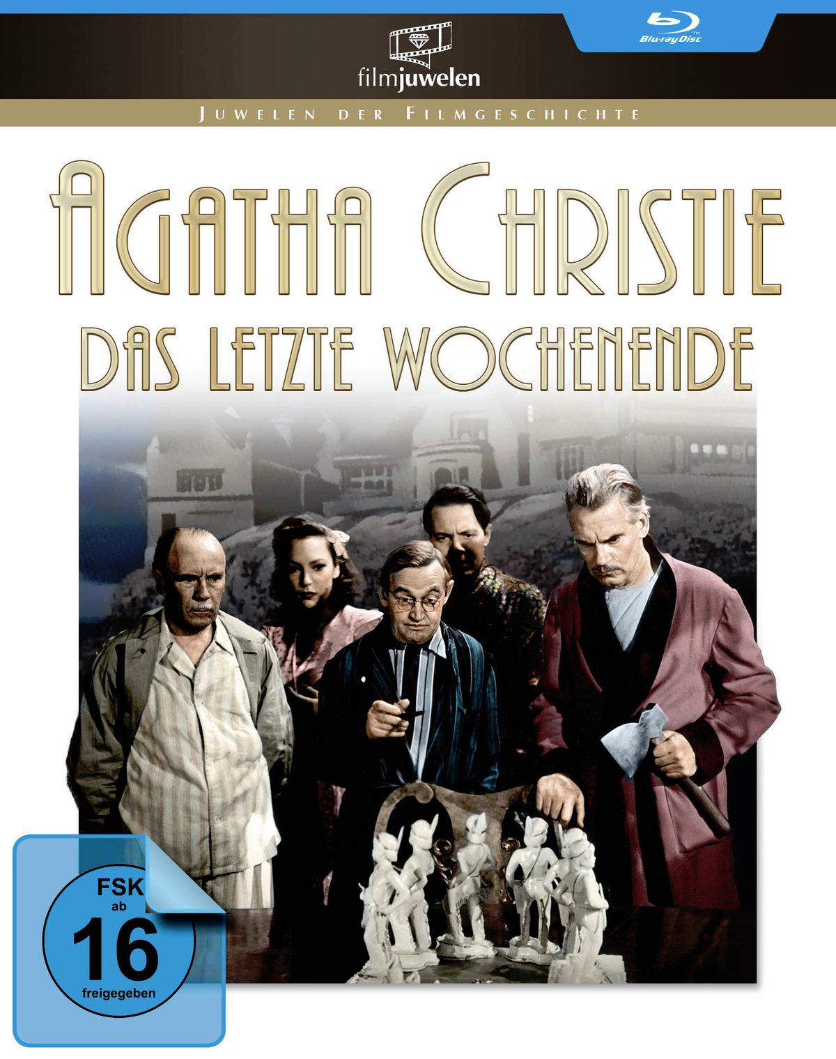 Agatha Christie (1945) - Das letzte Wochenende (Filmjuwelen, s/w)