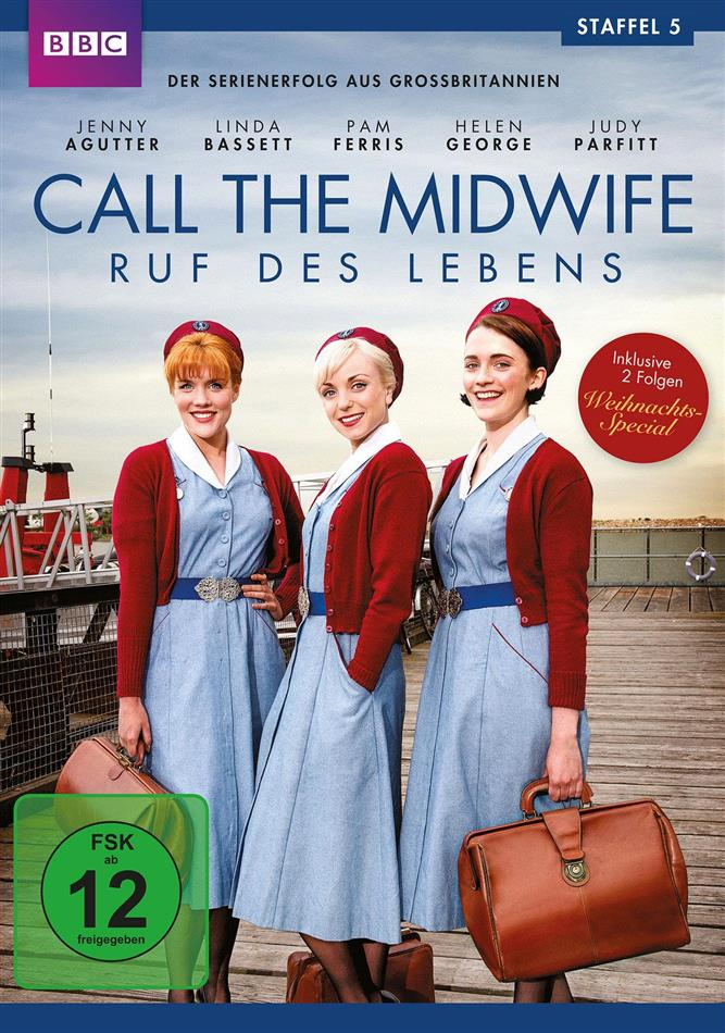 Call the Midwife - Staffel 5 (BBC, 3 DVDs)