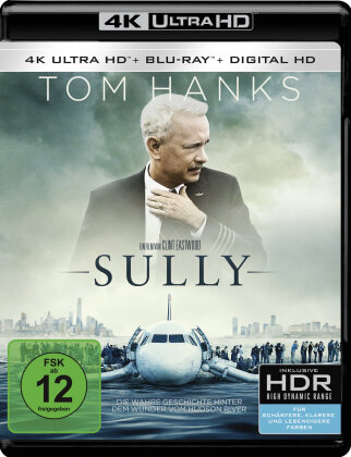 Sully (2016) (4K Ultra HD + Blu-ray)