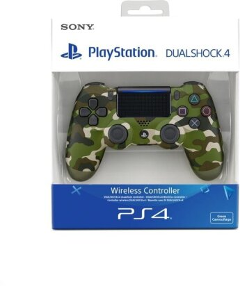 Dualshock 4 Wireless Controller - camouflage green