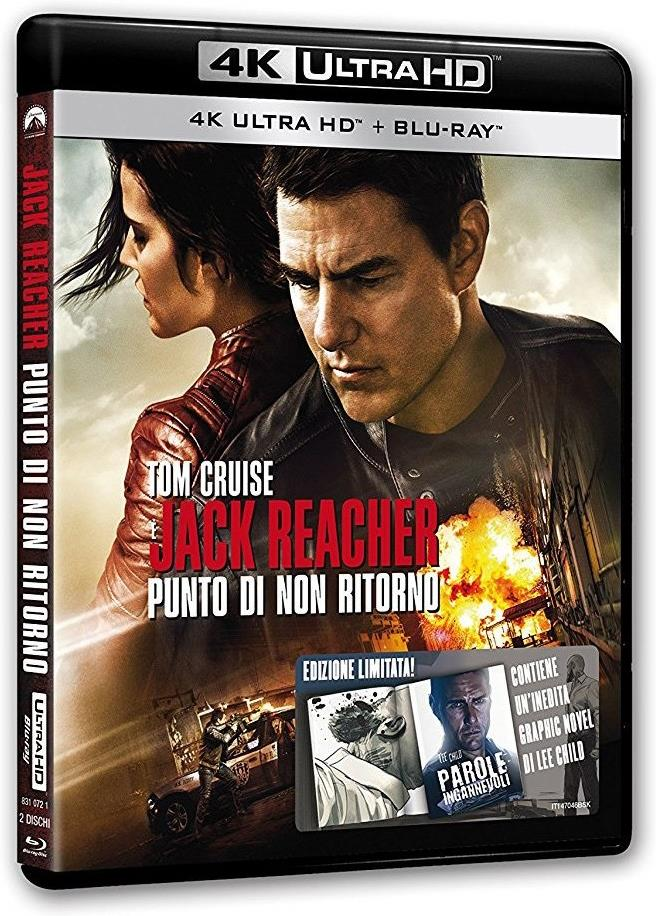 Jack Reacher 2 - Punto di non ritorno (2016) (4K Ultra HD + Blu-ray)
