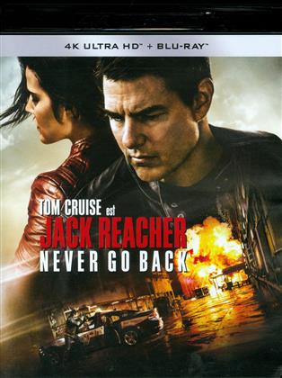 Jack Reacher 2 - Never Go Back (2016) (4K Ultra HD + Blu-ray)