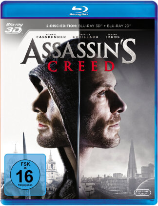 Assassin's Creed (2016) (Blu-ray 3D + Blu-ray)