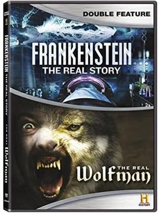 Frankenstein: The Real Story / The Real Wolfman (History Channel, Double Feature, 2 DVD)