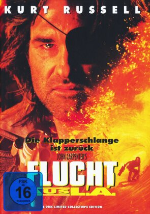 Flucht aus L.A. (1996) (Limited Collector's Edition, Mediabook, Blu-ray + DVD)
