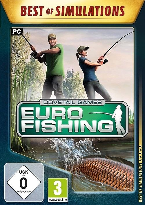 Euro Fishing, 1 CD-ROM