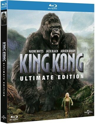 King Kong (2005) (Extended Edition, Versione Cinema, Ultimate Edition, 2 Blu-ray)