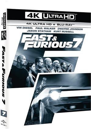Fast & Furious 7 (2015) (Kinoversion, 4K Ultra HD + Blu-ray)