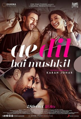 Die Sehnsucht meines Herzens - Ae Dil Hai Mushkil (2016) (+ Poster, 20th Anniversary Limited Coll. Edition, Edizione Limitata)