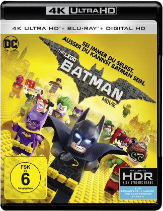 The LEGO Batman Movie (2017) (4K Ultra HD + Blu-ray)