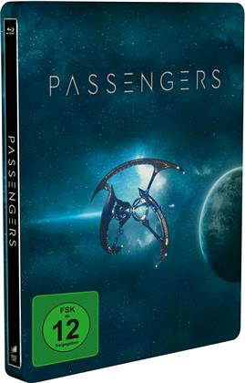 Passengers (2016) (Limited Edition, Steelbook, Blu-ray 3D + Blu-ray)