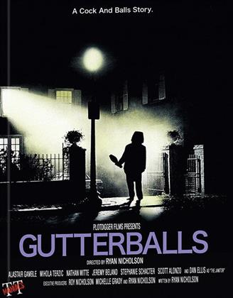 Gutterballs (2008) (Cover A, Limited Edition, Mediabook, Unrated, Blu-ray + DVD)