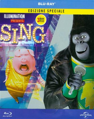 Sing (2016) (Limited Edition, Special Edition, Steelbook)