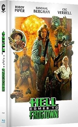 Hell comes to Frogtown (1988) (Cover B, Limited Edition, Mediabook, Uncut, Blu-ray + DVD)