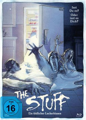 The Stuff (1985) (Limited Edition, Mediabook, Uncut, Blu-ray + DVD)