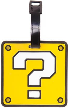 Nintendo - Question Mark Rubber Luggage Tag