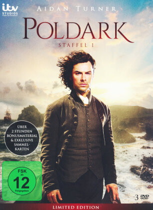 Poldark - Staffel 1 (Limited Edition, 3 DVDs)