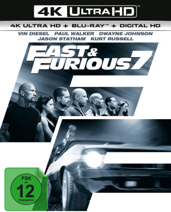 Fast & Furious 7 (2015) (4K Ultra HD + Blu-ray)