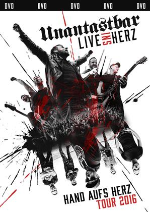 Unantastbar - Live ins Herz - Hand aufs Herz Tour 2016 (Limited Edition, 2 DVDs)