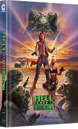 Hell comes to Frogtown (1988) (Cover A, Limited Edition, Mediabook, Uncut, Blu-ray + DVD)