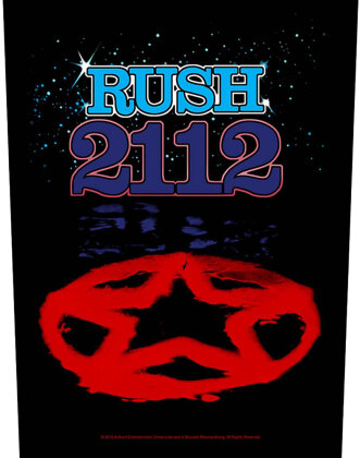 Rush Back Patch - 2112