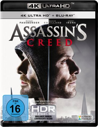Assassin's Creed (2016) (4K Ultra HD + Blu-ray)