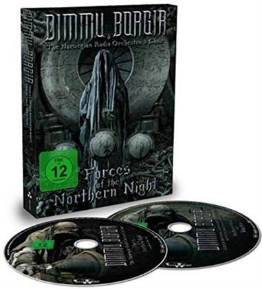 Dimmu Borgir & The Norwegian Radio Orchestra & Choir - Forces Of The Northern Night (Mediabook, 2 DVDs + 2 CDs)