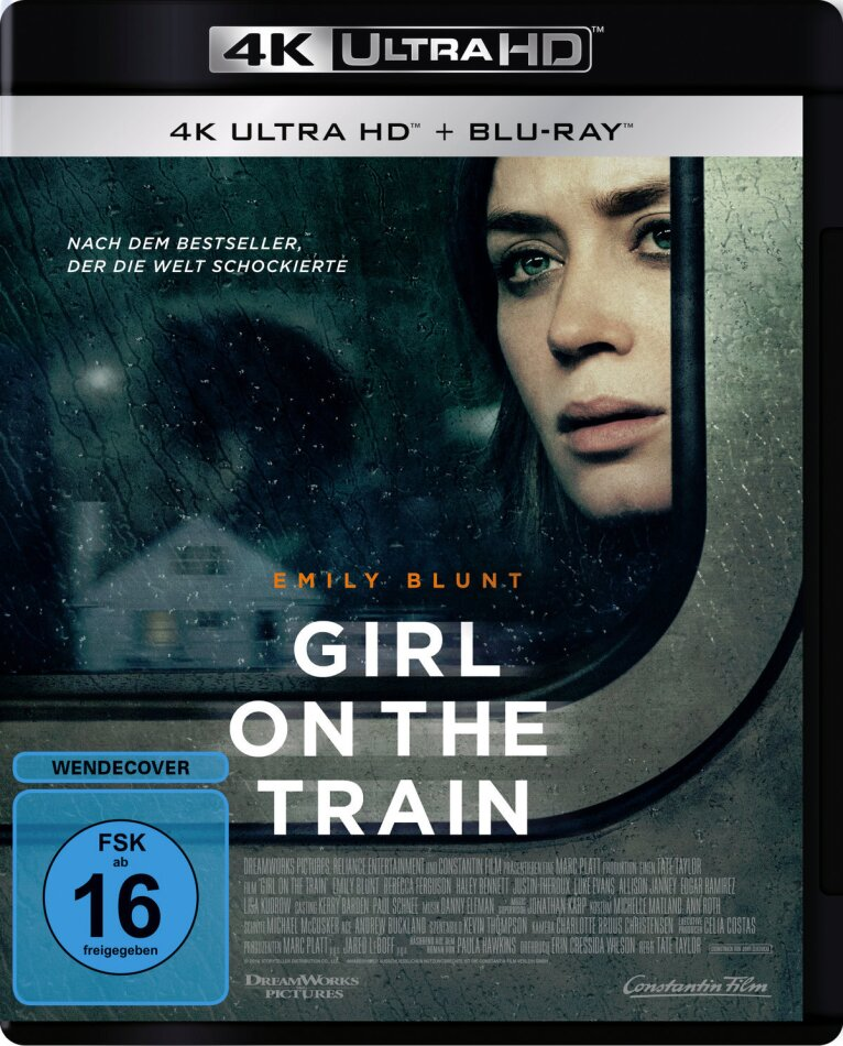 The Girl on the Train (2016) (4K Ultra HD + Blu-ray)