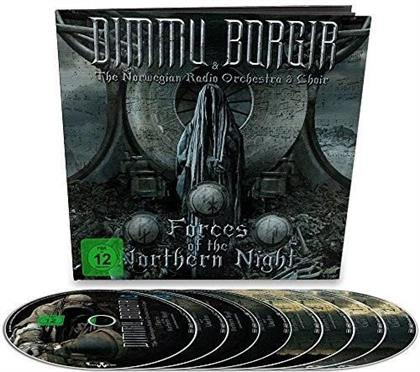 Dimmu Borgir & The Norwegian Radio Orchestra & Choir - Forces Of The Northern Night (Earbook, Limited Edition, 2 Blu-rays + 2 DVDs + 4 CDs)
