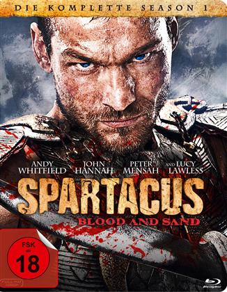 Spartacus - Blood and Sand - Staffel 1 (Steelbook, 4 Blu-rays)