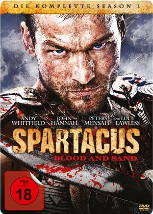Spartacus - Blood and Sand - Staffel 1 (Steelbook, 5 DVDs)