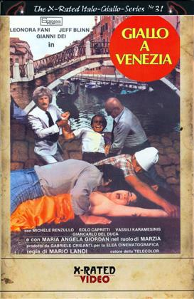 Giallo a Venezia (1979) (Cover A, Grosse Hartbox, The X-Rated Italo-Giallo-Series, Limited Edition, Uncut)