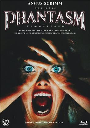 Phantasm (1979) (Cover A, Limited Edition, Mediabook, Remastered, Uncut, Blu-ray + 2 DVDs)