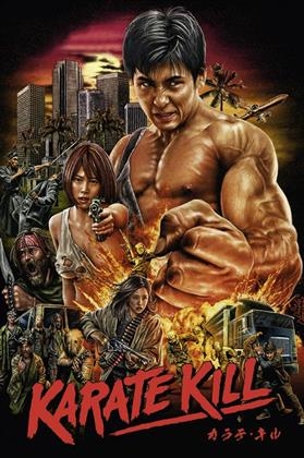 Karate Kill (2016) (Limited Edition, Mediabook, Uncut, Blu-ray + DVD + CD)