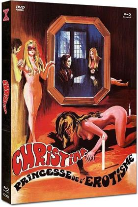 Christina - Princesse de l'érotisme (1973) (Cover A, Eurocult Collection, Limited Edition, Mediabook, Uncut, Blu-ray + DVD)