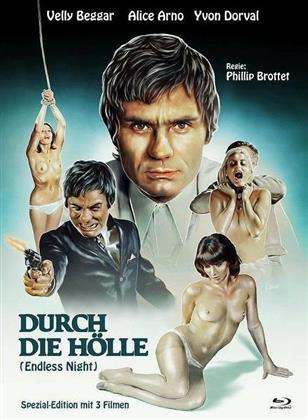 Durch die Hölle - (Endless Night) (1972) (Cover A, Eurocult Collection, Limited Edition, Mediabook, Special Edition, Blu-ray + DVD)