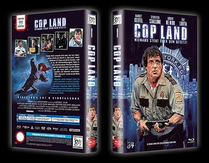 Cop Land (1997) (Grosse Hartbox, Director's Cut, Limited Collector's Edition, Uncut, Blu-ray + DVD)