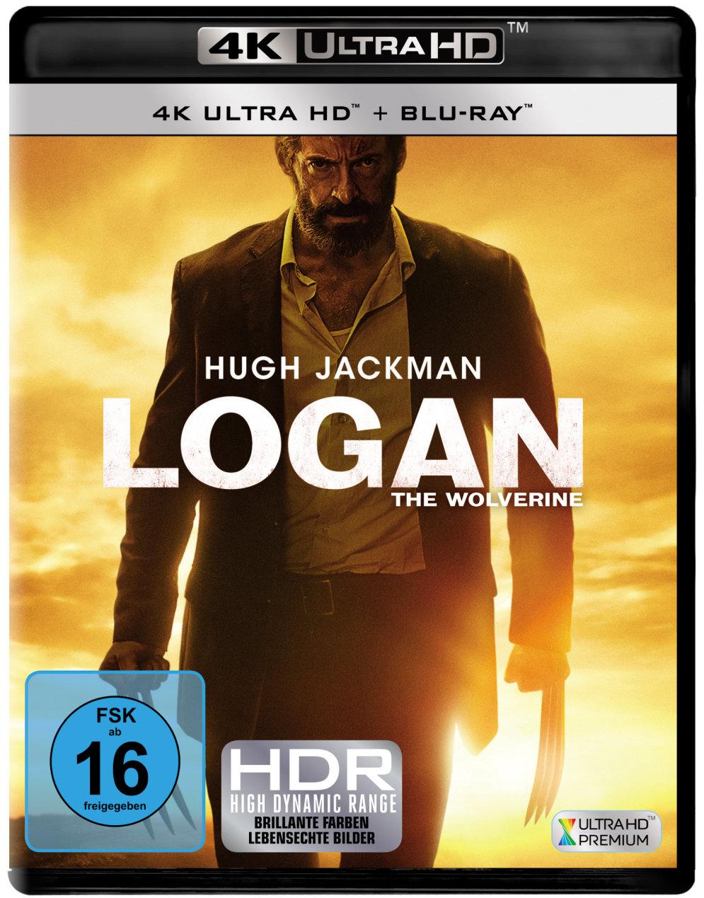 Logan 4K (2017) - The Wolverine (4K Ultra HD & Blu-ray)