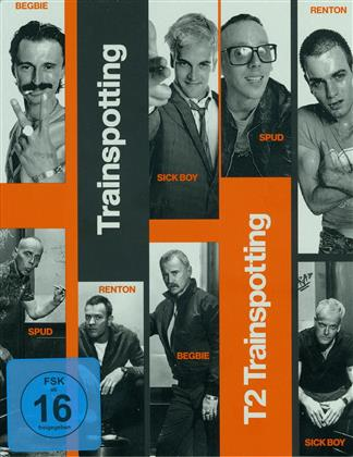 Trainspotting / T2 Trainspotting (Steelbook, 2 Blu-rays)