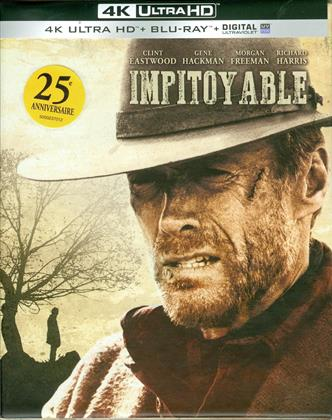Impitoyable (1992) (25th Anniversary Edition, Limited Edition, Remastered, 4K Ultra HD + Blu-ray + 2 DVDs)