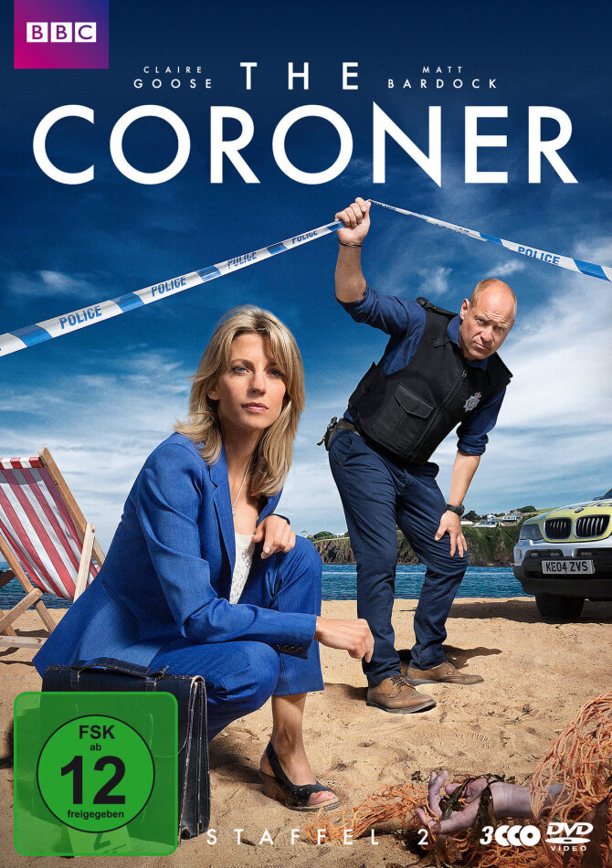 The Coroner - Staffel 2 (BBC, 3 DVDs)