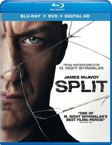Split (2016) (Blu-ray + DVD)