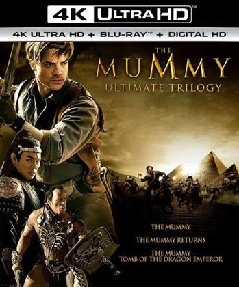 The Mummy - The Mummy / The Mummy Returns / The Mummy: Tomb of the Dragon Emperor (Ultimate Trilogy, 3 4K Ultra HDs + 3 Blu-rays)