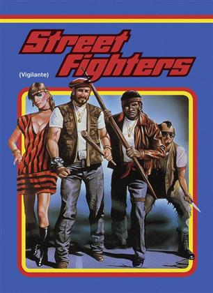Street Fighters - Vigilante (1983) (Cover A, Limited Edition, Mediabook, Uncut, Blu-ray + DVD)