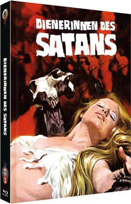 Dienerinnen des Satans (1974) (Cover B, Limited Edition, Mediabook, Uncut, Blu-ray + DVD)